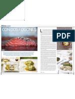 Cocineros y blogueros