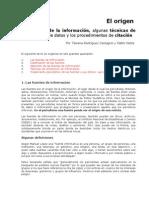 Fuentes de la información, técnicas de recolección y procedimientos de citación - Por Pablo Natta y Tatiana Rodríguez Castagno