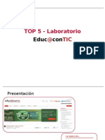 TOP 5 Laboratorio Educ@contic. #2
