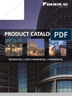 Daikin AC USA 2012 Product Catalog