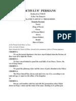 Aeschylus PERSIANS - Play 2