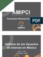 Hábitos de Internet en México 2012