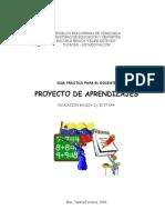 Guía Práctica para elaborar Proyectos de Aprendizaje