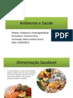Ambiente e Saúde-Antónia
