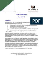 The Monarch Report 5-21-2012