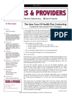 Payers & Providers National Edition -- Issue of May 2012