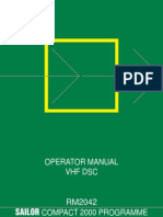 Sailor Rm2042 Operator Manual Vhf Dsc