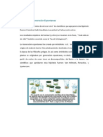 Biogénesis y Generación Espontanea