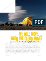 We Move When the Cloud Moves