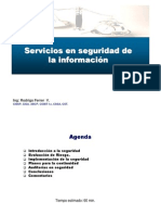 Microsoft Power Point - Servicios de Seguridad ion v1