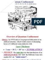 Quantum Confinement 1 - Overview