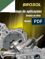 BROSOL CATÁLOGO BOMBAS DE OLÉO