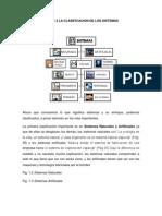 1.3 Clasificación de Sistemas