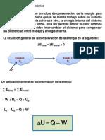 4. Primera Ley de la Termodinámica