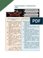 Estructura de Con Ciencia Externa Y Estructuras Del Conocimiento y Saber