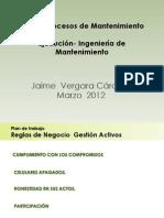 4.0 Procesos de Mantenimiento Ejecucion - Ing Mtto