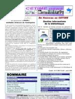 CetimeNews 4  Mars Avril 2006