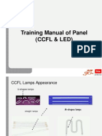 LED and LCD Panel Training