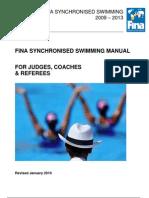 FINA+Synchro+Manual+2009 2013