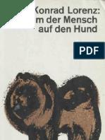 Lorenz, Konrad - [1960] So Kam Der Mensch Auf Den Hund