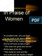 In Praise of Women