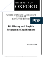 English and History