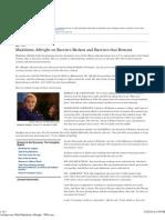 An Interview With Madeleine Albright - WSJ