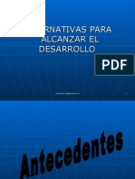 Alternativas Para El Desarrollo de Quetzaltenango