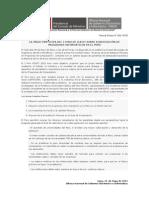 ONGEI participa del I foro de ICACIT sobre Acreditación de Programas Informáticos en el Perú