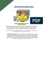 Nutri Lean Pack El Placer de Una Dieta Saludable