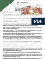 BATALLA DE PICHINCHA