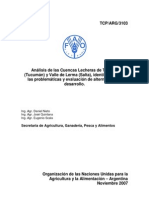 Informe Final FAO NOA