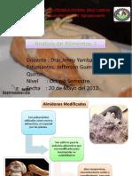 EXPOSICIÓN ALMIDONES MODIFICADOS CLASE 1