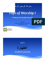 Summary of Islamic Jurisprudence - Taharah (Chap6-7)