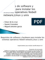 Requisitos de Software y Hardware Para Instalar Los