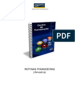 Amostra Rotinas Financeiras
