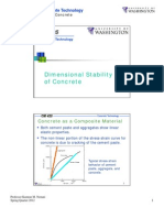 Stability in Concrete