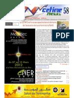 CetimeNews 58 Dec. 2011- Janv. 2012
