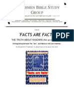 "ENG - ""FACTS ARE FACTS, THE TRUTH ABOUT KHAZARS"" [Including Illustrations] by Benjamin H. Freedman - A suppressed classic"