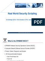 Real-World Security Scripting