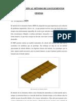 INTRODUCCION AL METODO DE ELEMENTOS FINITOS