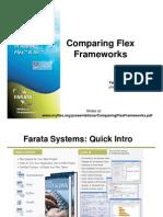 Comparing Flex Frameworks