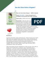 O Que é o Óleo de Coco Extra Virgem - Medicina Preventiva - Curas Naturais