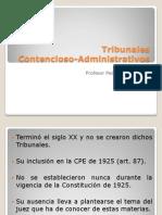 Historia Del Contencioso Administrativo en Chile.