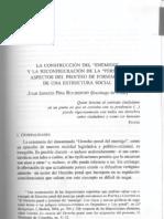 La construcción del enemigo y la reconfiguración de la persona. Aspectos del proceso de formación de una estructura social, en Cancio/Gómez-Jara (coords), Derecho Penal del Enemigo, Edisofer/BdF, Madrid et Al., 2006