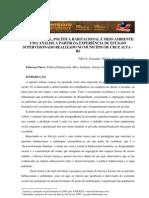 SERVIÇO SOCIAL POLÍTICA HABITACIONAL E MEIO AMBIENTE- UMA ANÁLISE A PARTIR DA EXPERIÊNCIA DE ESTÁGIO SUPERVISIONADO REAL
