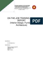 Ojt Final Report