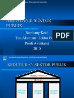 Sifat Dan Karakteristik Organisasi Sektor Publik 2010