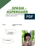 DISFASIA -ASPERGUER