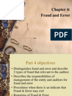 P4- Fraud and Error